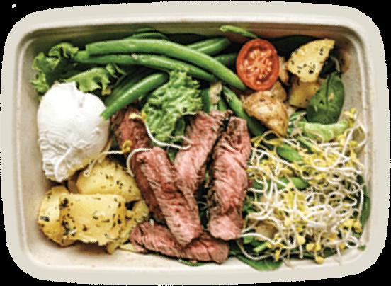 Steak Salad Box