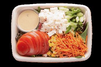 Feta cheese salad