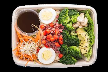 Salat Brokkoli Avocado