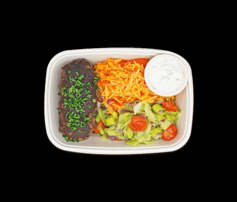 Bifteki gefüllt mit Feta